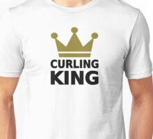 Curling king champion Unisex T-Shirt