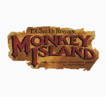 Monkey Island 2 logo Kids Clothes