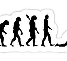 Evolution curling Sticker