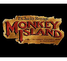 Monkey Island 2 logo Photographic Print