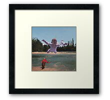 Pescare dai '90 Framed Print