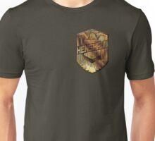 Custom Dredd Badge - Henshaw Unisex T-Shirt