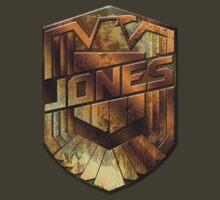 Custom Dredd Badge - Jones by CallsignShirts