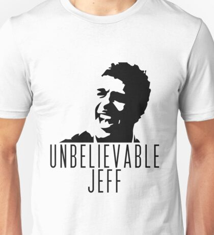 Unbelievable Jeff - Chris Kamara Unisex T-Shirt