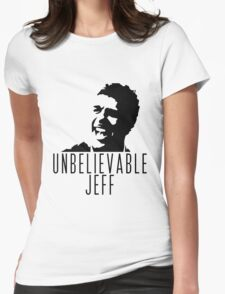 Unbelievable Jeff - Chris Kamara Womens Fitted T-Shirt