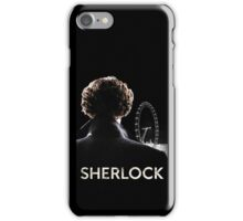 SHERLOCK CASE - BLACK iPhone Case/Skin