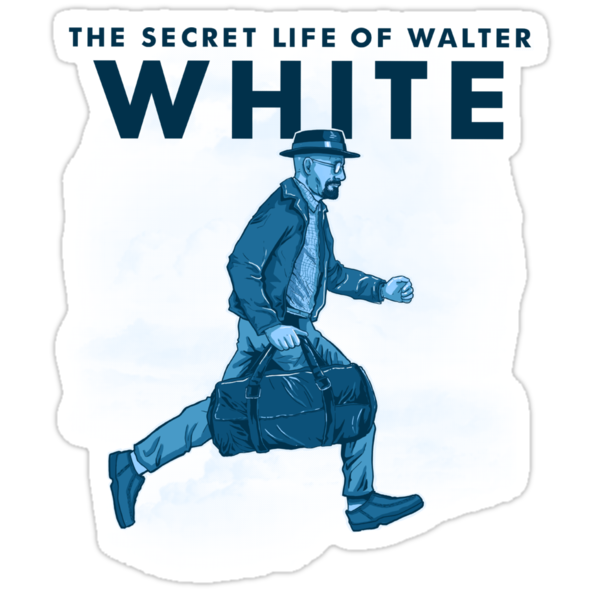 The secret life of Walter White by oliviero