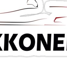 Kimi Raikkonen 7 Sticker