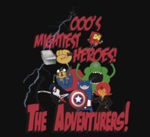 The Adventurers! - Avengers/Adventure Time by Zack Cogburn