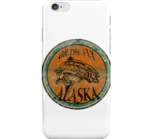 Alaska on the fly logo iPhone Case/Skin