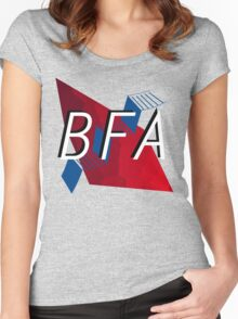 Bachelors of Fine Art LOGO Women's Fitted Scoop T-Shirt
