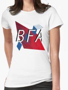 Bachelors of Fine Art LOGO Womens Fitted T-Shirt