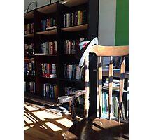 Stetson in Tachair Bookshoppe Photographic Print