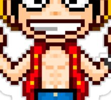 Monkey D. Luffy Pixel Sticker