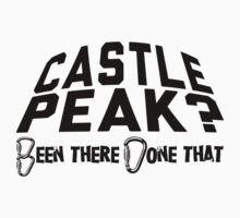 Castle Peak Mountain Climbing by Location Tees