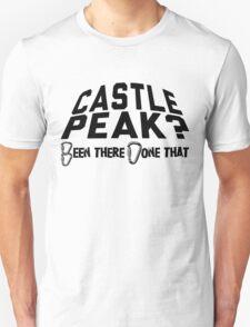 Castle Peak Mountain Climbing Unisex T-Shirt