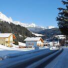 Entering Filzmoos - Austria by Arie Koene