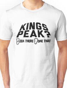 Kings Peak Mountain Climbing Unisex T-Shirt