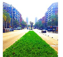 Barcelona Street Perspective Phone Case by jamesmachin