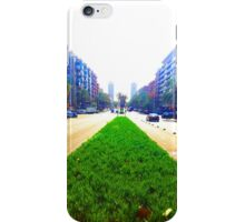 Barcelona Street Perspective Phone Case iPhone Case/Skin