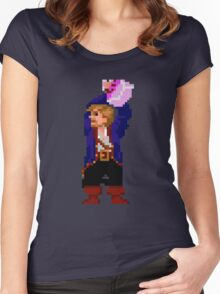 Guybrush and the voodoo (Monkey Island 2) Women's Fitted Scoop T-Shirt