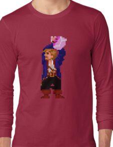 Guybrush and the voodoo (Monkey Island 2) Long Sleeve T-Shirt