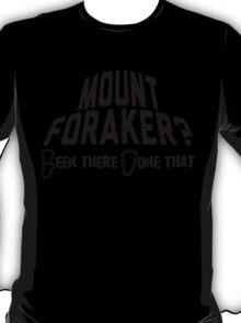 Mount Foraker Mountain Climbing T-Shirt