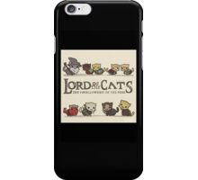 Lord of the Cats iPhone Case/Skin