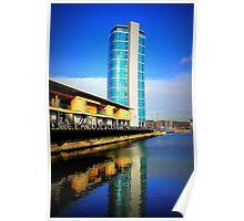 Riverside Tower Poster