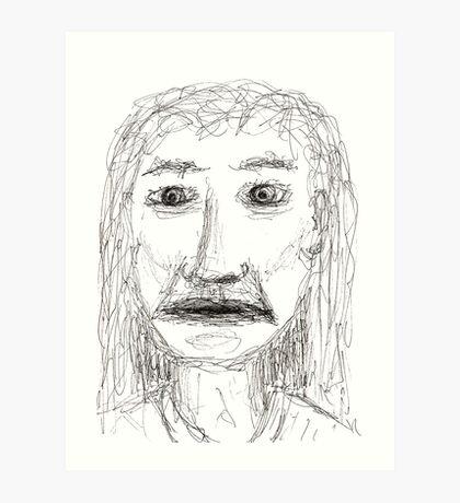 The Realisation Art Print