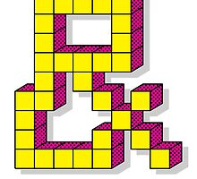 Pixel Ampersand by tombst0ne