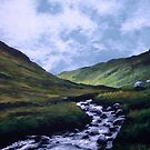Glen Rosa, Isle of Arran by Paul Mudie