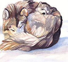 Mama Wolf by amaryn