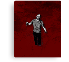 Steve - Zombie Canvas Print