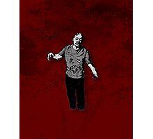 Steve - Zombie Photographic Print