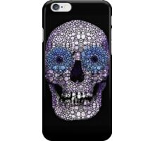Skull Art - Day Of The Dead 2 Stone Rock'd iPhone Case/Skin