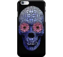 Skull Art - Day Of The Dead 1 Stone Rock'd Art By Sharon Cummings iPhone Case/Skin
