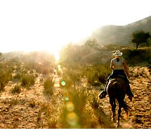 Horseback Trails (Mexico) Photographic Print