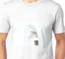Startled - Snowy Owl T-Shirt