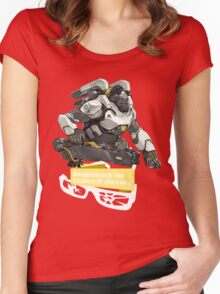 The Essence Women's Fitted Scoop T-Shirt