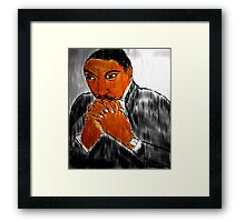 DR. KING Framed Print