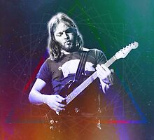 David Gilmour Art by pulgaishon