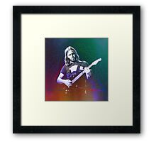 David Gilmour Art Framed Print