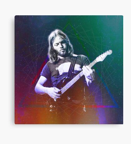 David Gilmour Art Canvas Print