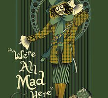 Spooky Mad Hatter poster by EdWoody