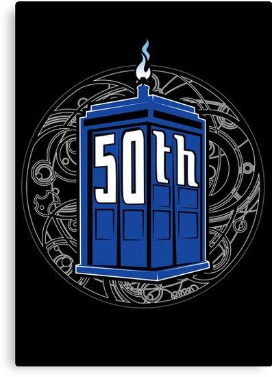 Happy 50th Tardis by Patrick Scullin