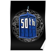 Happy 50th Tardis Poster