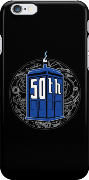 Happy 50th Tardis by Patrick Scullin