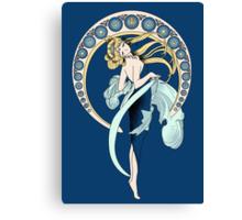 Sailor Moon Mucha poster Canvas Print