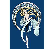 Sailor Moon Mucha poster Photographic Print